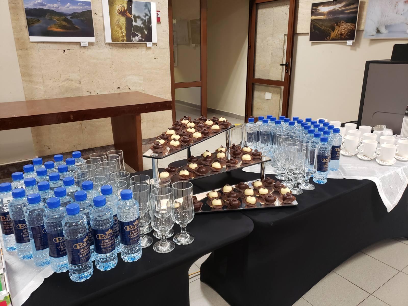 28.09.2020  |  Кафе пауза - Бизнес конферентно мероприятие - 60 кув.
