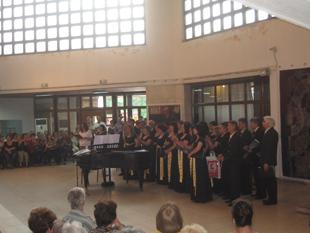 10.05.2013   Концерт на Парижки хор - 120 кув.